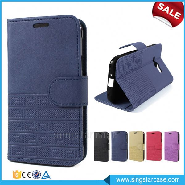 Wholesale Wallet Card Slots Stand Flip Leather Phone Case Cover For Cherry Mobile C200