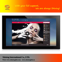 Factoy Customized indoor digital advertising led display screen digital photo frame