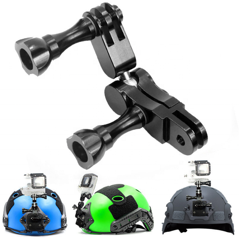 Lote de montaje plana Adhesivo Curvo accesorios de casco para GoPro Hero 1//2//3//3+//4 Kit