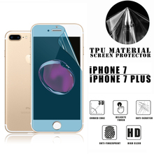 VMAX Newest Anti fingerprint full cover TPU screen protector film for iPhone 7/7 plus free sample 6S