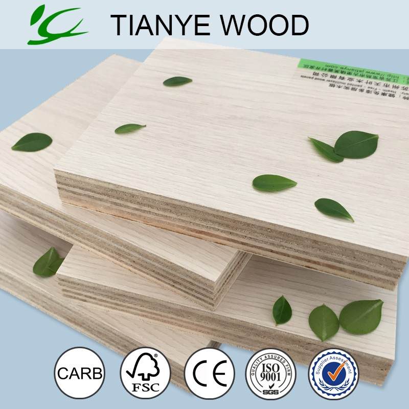 Excellent Quality 16mm 4x6 brick plywood board with colorful design for Furnitures