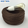 Cloth Cotton Covered Twisted Electrical Cord