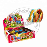 Sour belt gummy candy
