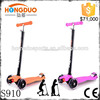 125mm 4 wheel folding kick foot scooter for adult