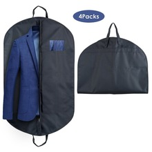 High-end Fabric Mens Travel Hanging Suit Cover Garment Bag