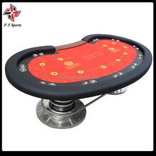 Deluxe Texas casino poker table/mesa de poker de madeira/mesa de jogo