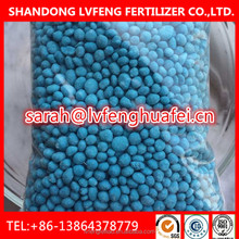 fertilizer NPK 12-12-17+2MgO+TE MOP based blue granular