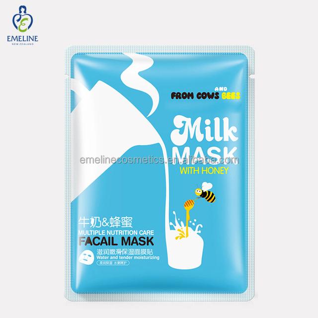 Skin Care Natural Moisturizing Hydrating Honey Milk Face Mask