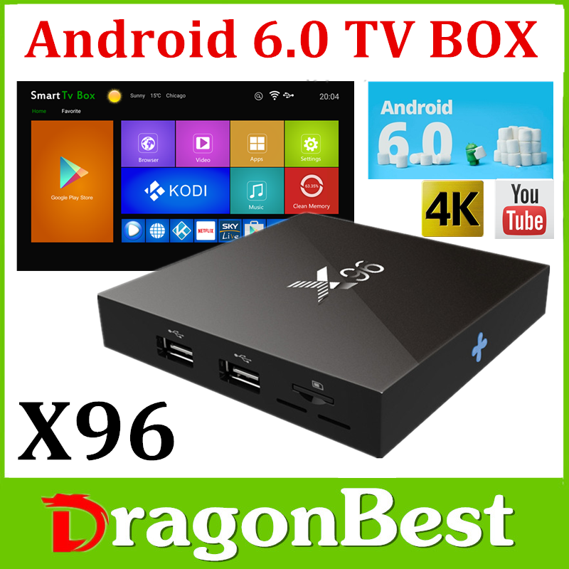 X96 4K install google play store android tv box