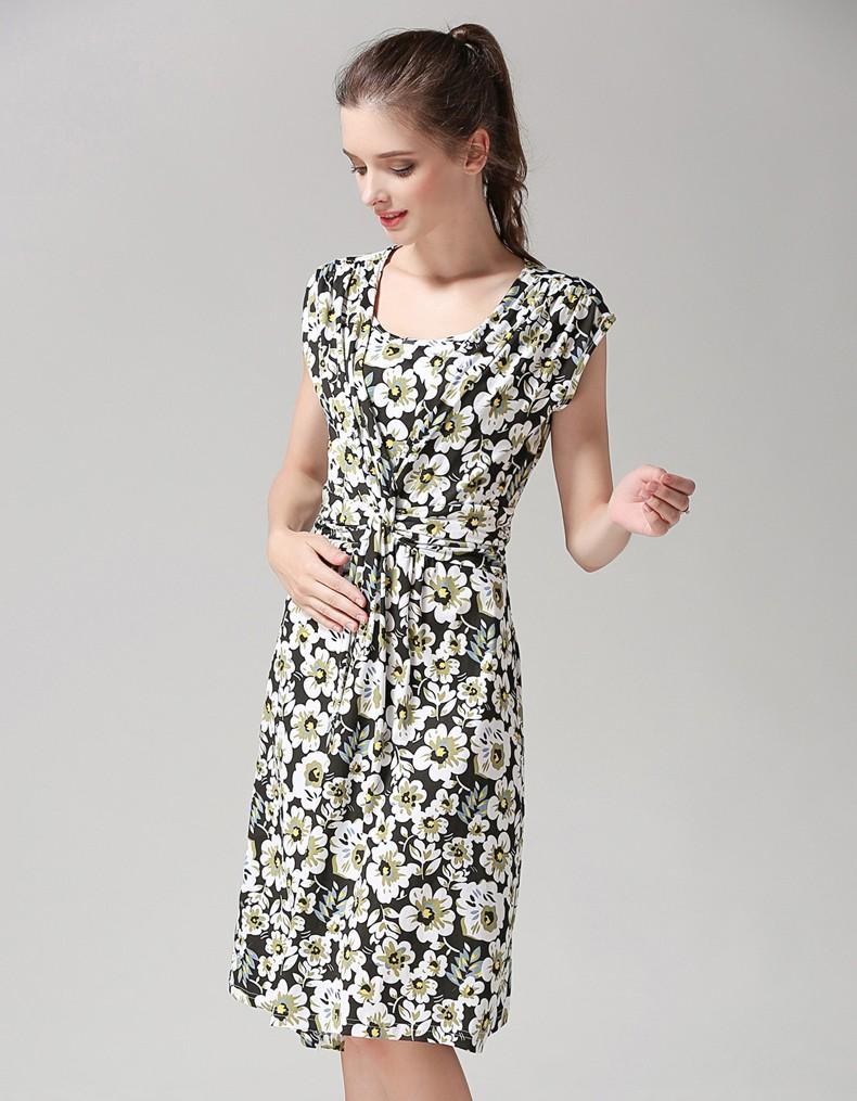 MamaLove umstandskleid Stillen Sommer Kleid für Schwangere ...