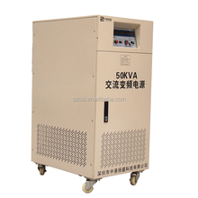 1 phase to 3 phase ac voltage to frequency changer converter 220v 115v 400hz 500 watt 50hz 200hz frequency converter aircraft