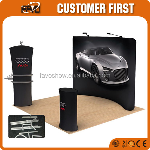 Four Color Printing Advertising Display Wall