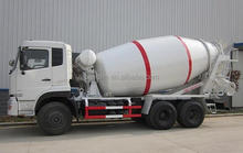 Dongfeng 4x2 Right Hand Drive Self Loading Used Concrete Mixer Truck For Sale