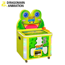 kids coin operated hammer arcade game machine with ticket for prize