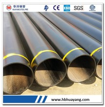 BLACK PAINTED ASTM A53 B steel pipe dimensions