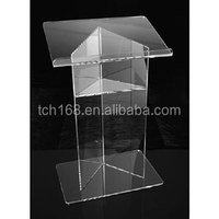 acrylic lectern /podium pulpit rostrum
