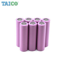 Alibaba rechargeable cylindrical 2600mah 18650 li ion battery
