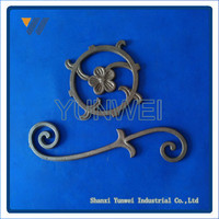China hot sales top quality wrought iron decorative window guards