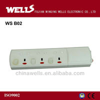 UK Type Electrical Power Strip