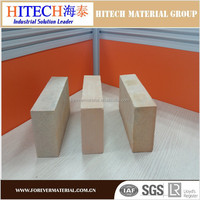 China brick factory Zibo Hitech vermiculite insulation bricks for pizza oven