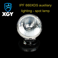 IPF 660XDS auxiliary lighting - spot lamp for H9 HID bulb/ Halogen bulb