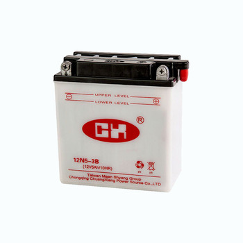 best seller 12v 5Ah lead acid accumulator motorcycle battery for battery importer