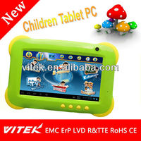 Best selling 7 inch Kids Special Software Children Tablet