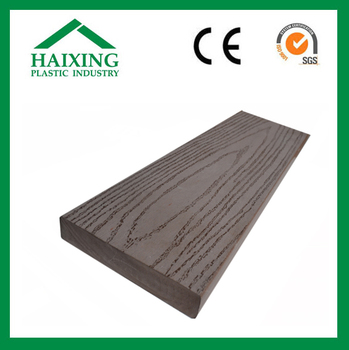 wood plastic composite sheet Pvc&Wpc flooring decking with CE,SGS,ani-UV