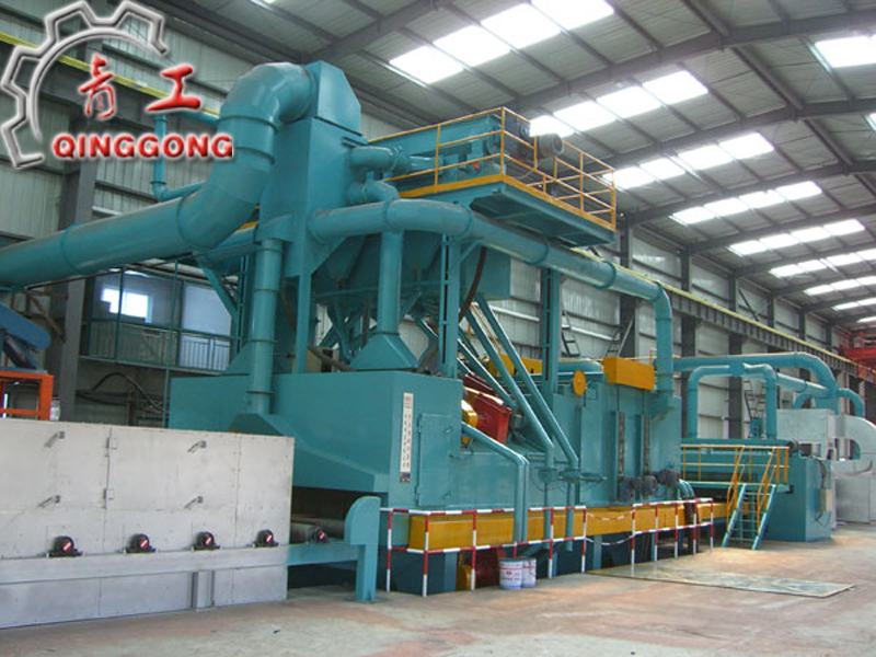 Steel Plate and H beam Preservation Line