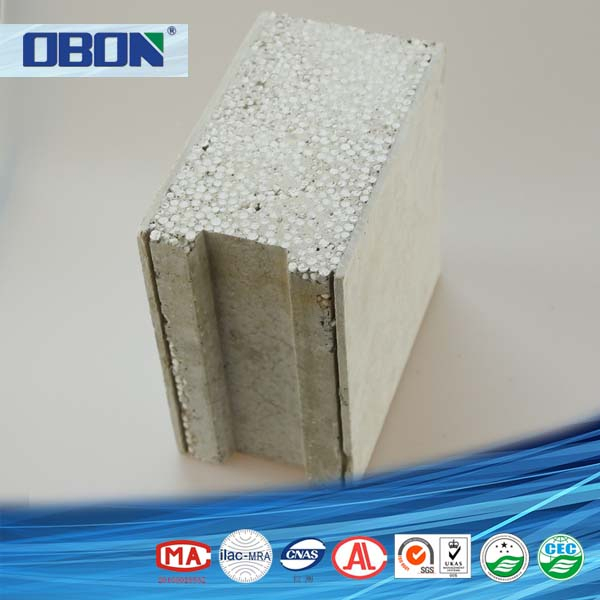 Obon lightweight eps concrete foam block 60mm buy for Cement foam blocks