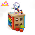 New hottest intelligent wooden bead roller coaster toy for baby W11B171
