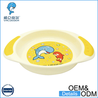 Wholesale Free Sample 100% Food Grade Feeding Baby Bowl With Spoon