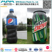 EN71 Giant advertising inflatable 3D bottle