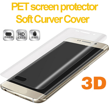 TPU Material 3D Screen Protector for Samsung Galaxy S6 Edge Mobile Phone Film