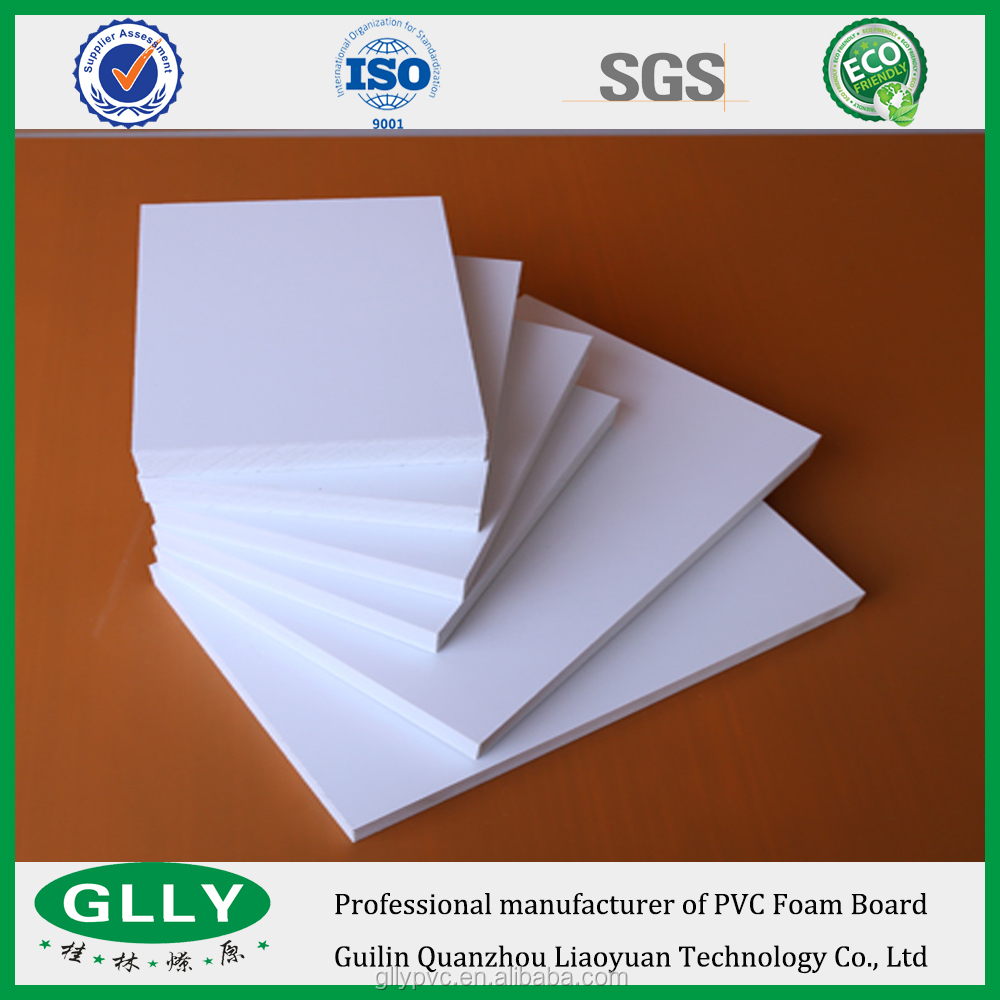 Manufacture Factory Price Colorful Water Proof Boards Cellular PVC Sheet