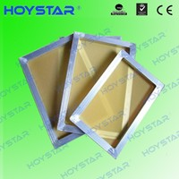 high tension screen printing frames with mesh