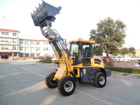 Zl15 Compact Tractor Loader 1.5t Small Wheel Loader Hym915 with Euro III Engine