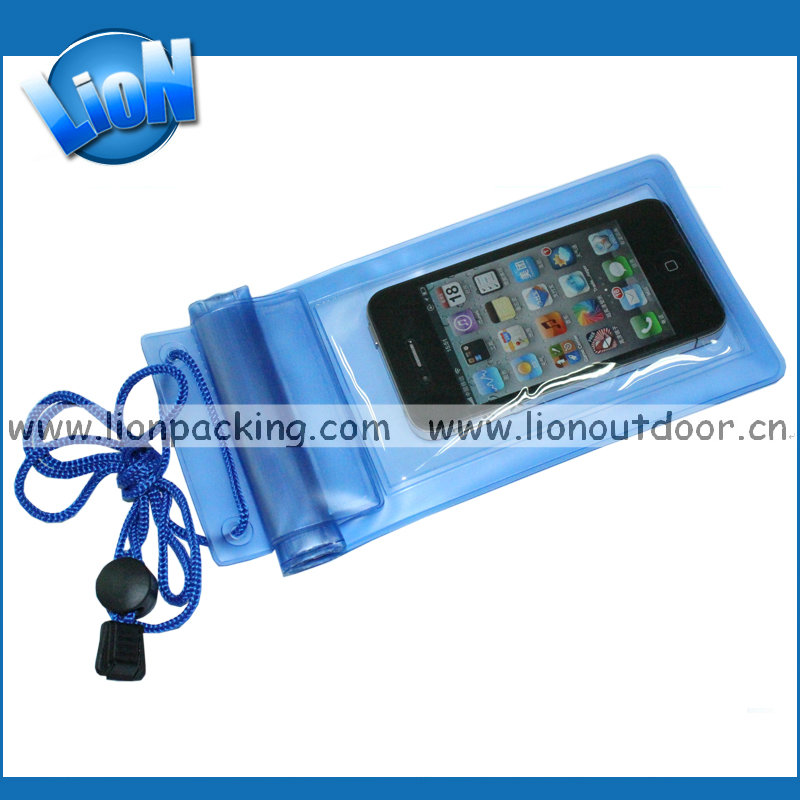 Wholesale pvc waterproof bag for IPhones, For Iphone Waterproof Bag