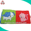 Customized wholesale super soft plush baby memory book