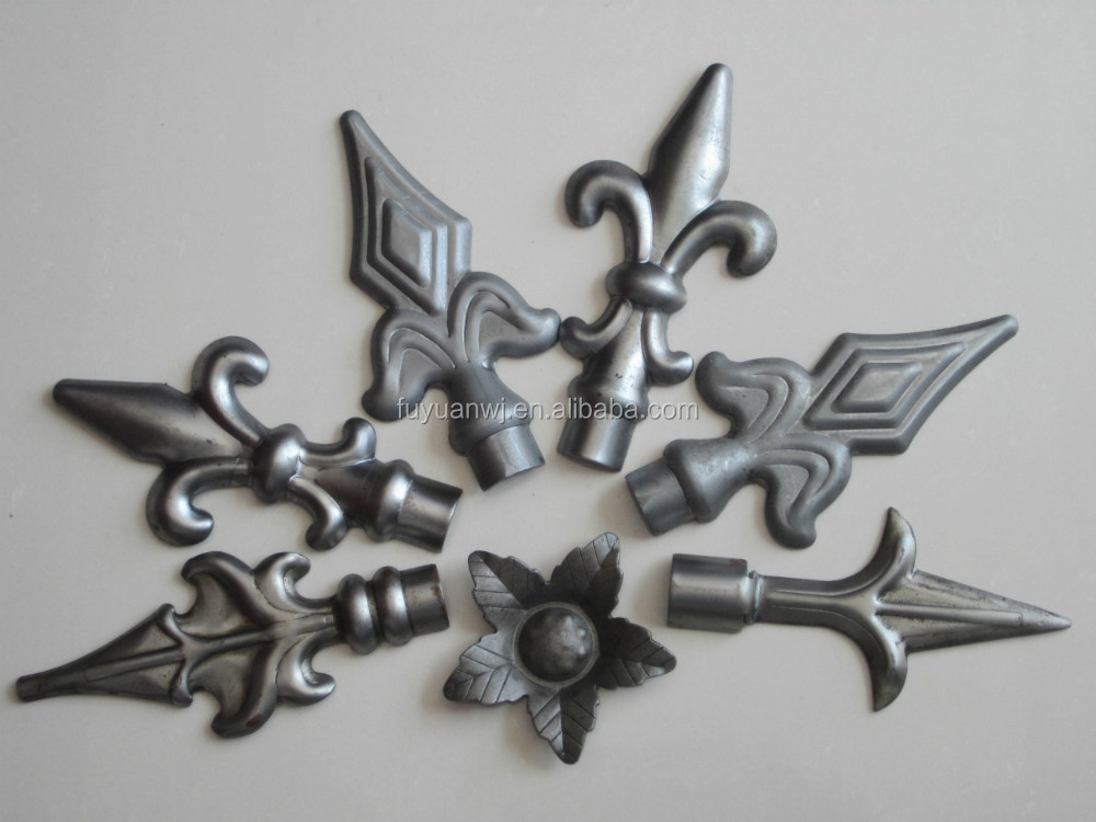 Metal Fence Decoration Iron Art Stamping Parts