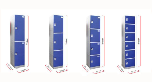 ABS Plastic Locker