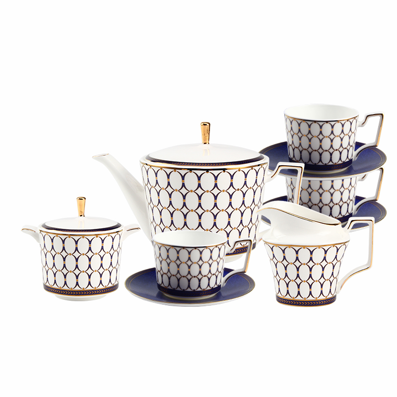 Blue Classical Design <strong>Coffee</strong> and Tea Sets Splendid English Afternoon <strong>Coffee</strong> and Tea Set