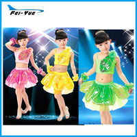 Flower Leaves Spring Fairy Ballet Dance Costumes Girls For Christmas