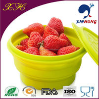 2014 Custom New Design Foldable Silicone Prep Bowl with FDA/SGS Approved