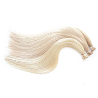 wholesale new arrival i tip extension 16-30 inch virgin brazilian human hair weft color black
