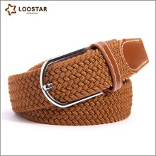 ALMN0001-1 All-Match Casual Men Best Selling Woven Braided Elastic Stretch Belt