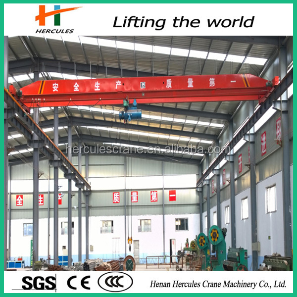 LD Type Single Girder / Beam Traveling Bridge Overhead Crane