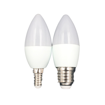 Energy Saving led candelabra Lamp Led 4w 5w  6w 7w  C37 Candle E27 E14 Led Light Bulb