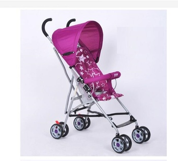 2016 China cycle fair new high landscape and foldable 3-in-1 baby stroller