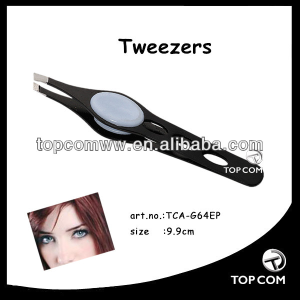 rubber tipped long handle tweezers